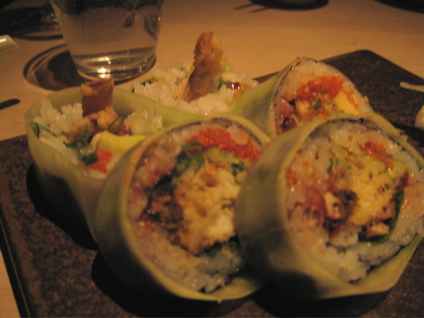 spider roll at Sake No Hana