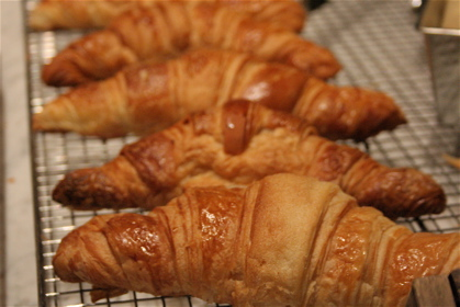 croissants at the Albion Caff