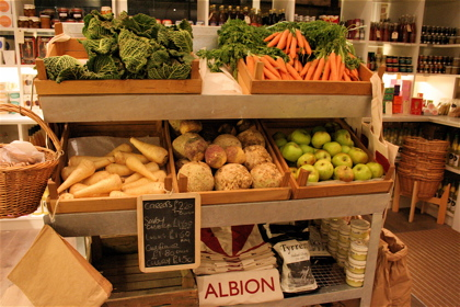 grocery at the Albion Cafe
