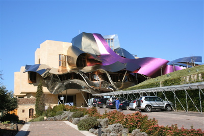 Marques de Riscal in Elciego, Spain