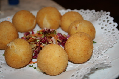 croquetas at Mayor de Migeloa