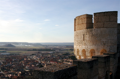 views of Penafiel from the Penafiel castle