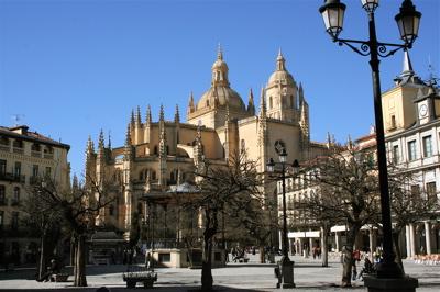 Segovia Cathedral and Plaza Mayor