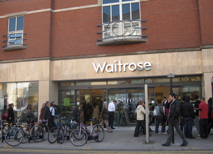 Waitrose at Angel station, Islington