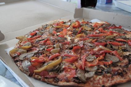 matzoh pizza