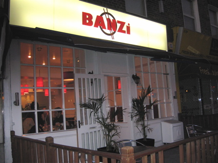 Banzi Vietnamese restaurant in Surrey Quays, London