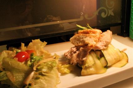 ventresca con tumbet (tuna)