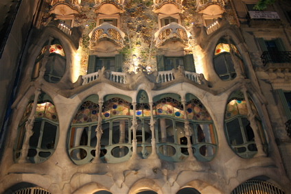Gaudi's Casa Batllo, Barcelona