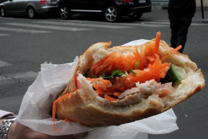 porc banh mi at Dong Tam in Belleville, Paris