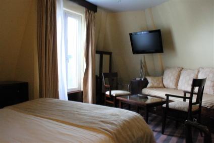 sixth-floor room at the Grand Hotel Francais, Paris (11th)