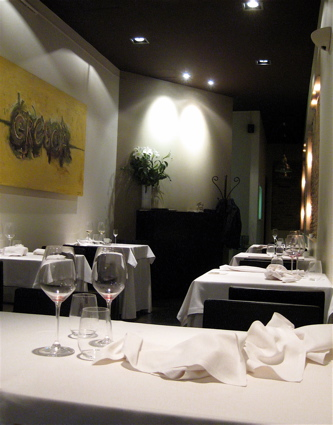 Gresca restaurant interior