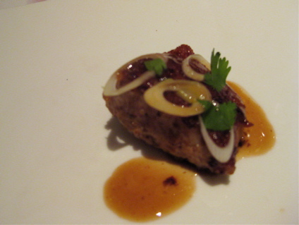 sweetbreads at Gresca