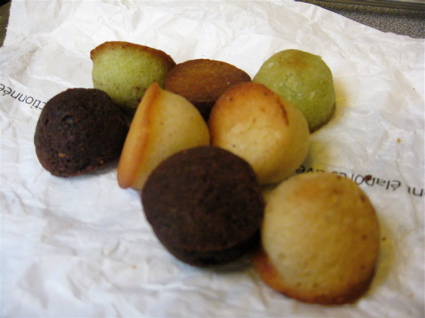 mini financiers from Maison Kayser