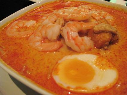 curry laksa at Sedap Malaysian restaurant