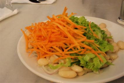salad that accompanies your kofte at Tarihi Sultanahmet Koftecisi