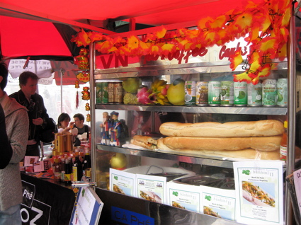 Banhmi11 stand in Broadway Market