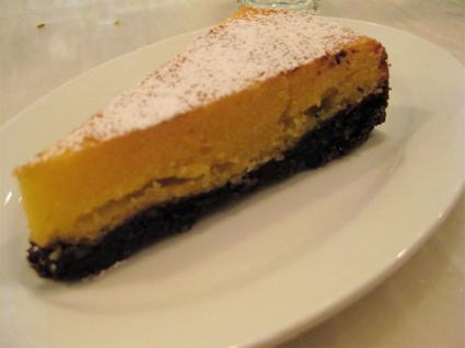 torta caprese at Bocca di Lupo
