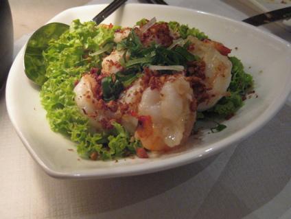 chili prawns at Keelung