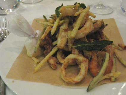 fritto misto at L'Anima