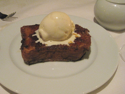 french toast pudding at Magdalen