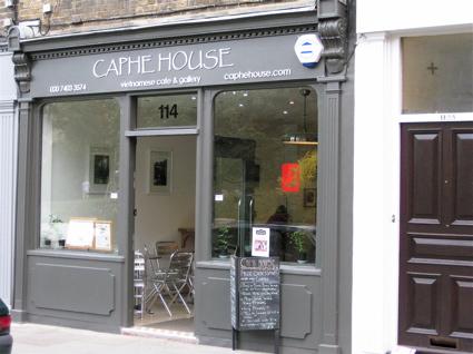 Caphe House on Bermondsey Street