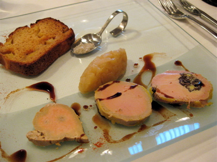 foie gras 4 at La Botte d'Asperges in Contres, France
