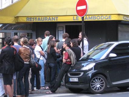 Le Cambodge Restaurant, Canal St Martin, Paris