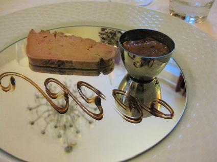 foie gras 5 at Le Pavillion de Lys in Amboise, France