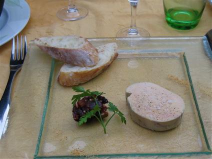 foie gras 4 at Le Rendez-vous des Gourmets in Bracieux, France