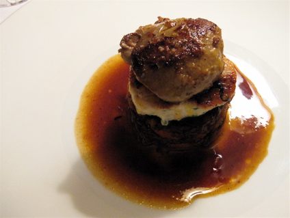foie gras 2 at Le Rendez-vous des Pecheurs in Blois, France
