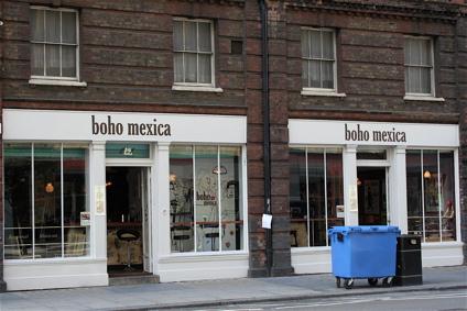 Boho Mexica near Spitalfields Market