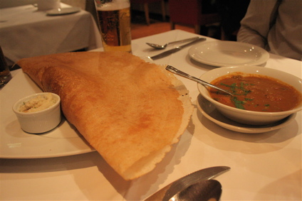 masala dosa at Shilpa