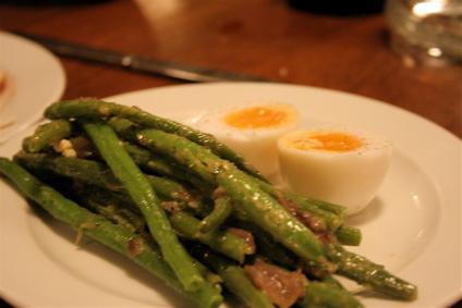 Bobby beans & duck egg