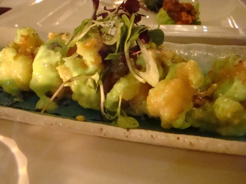 wasabi prawns (photo courtesy of Gourmet Chick)