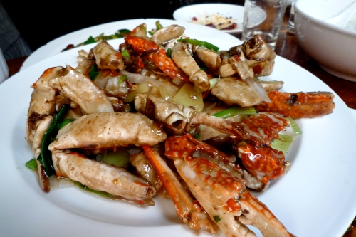 ginger scallion crab