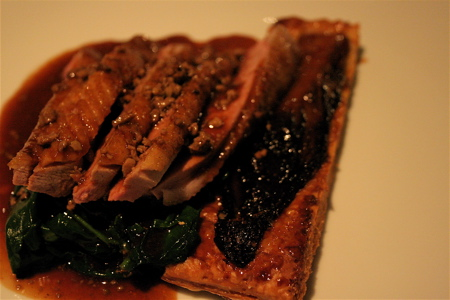 Kitchen W8 duck breast