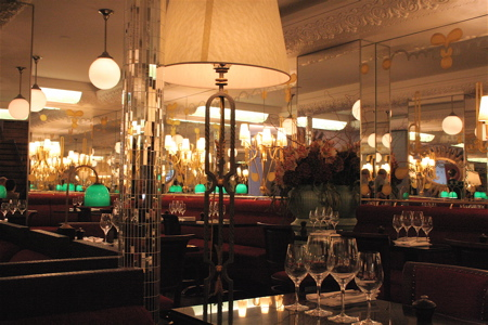 interior of Thoumieux in the 7th arrondissement, now owned by the Costes brothers