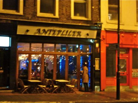 Antepliler turkish islington an american in london for American cuisine in london